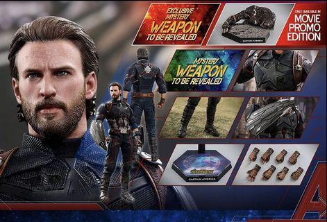 Hottoys iw Captain America 會場版