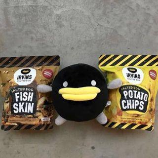 🚚 Irvins Salted Egg Duck Plush Toy