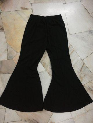 Black Bell Bottom Pants 70s style