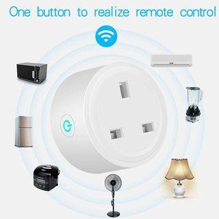 WIFI Remote Control Socket Voice Socket Smart Home Power Plug