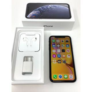 蘋果 Apple iPhone XR 128GB 黑色 二手盒裝美規機 #4871