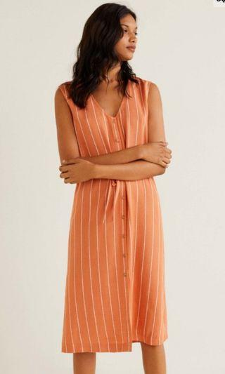 🚚 Orange beach dress