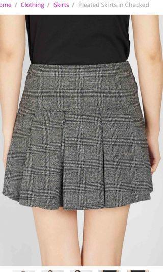 🚚 Checker skirt