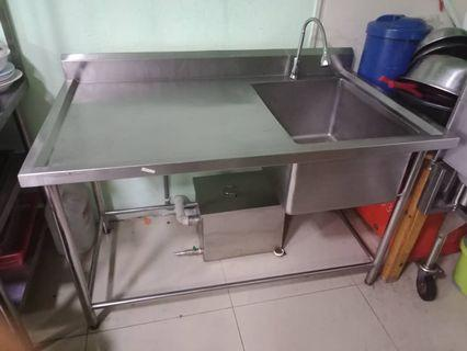 Sink withGrease trap