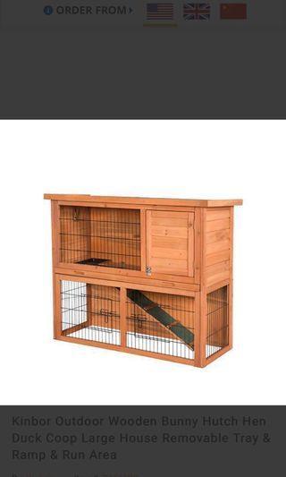 Rabbit/ Guinea Pig/ Hen/ Duck House