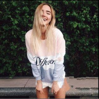 💥HOT💥Women Fashion Alphabet Sweatshirt Cotton Hoodie Sweatshirts Top