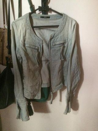 #MAUVIVO Jaket Wanita jeans