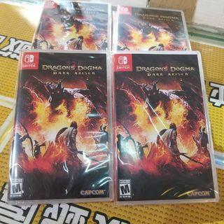 100%全新 旺角門市 Switch Dragon's Dogma: Dark Arisen 龍族教義:黑暗再臨  只售$205