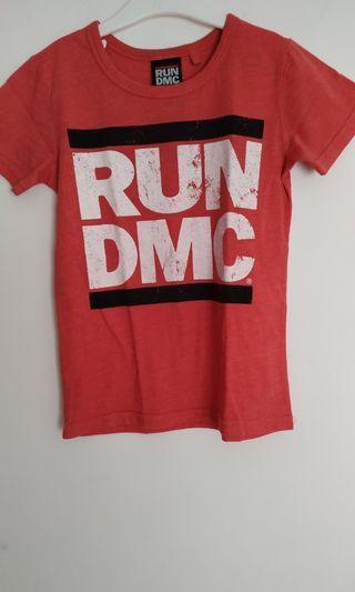 Kaos anak Cotton On Kids RUN DMC