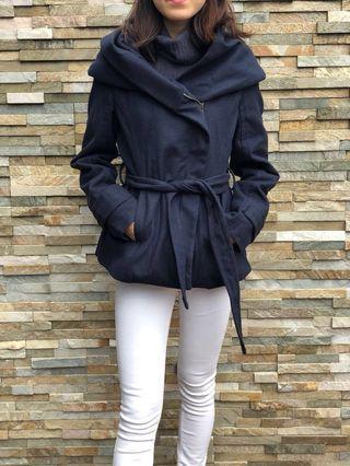 Royal Blue Coat with Hood