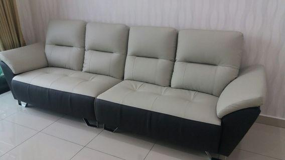 Brand New 4 Seater Casa Leather Sofa