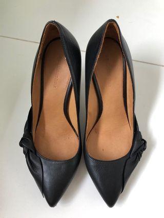 🚚 Isabel Marant black leather heels
