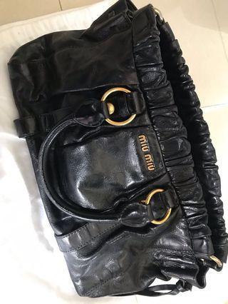 Miu miu Vitello Lux Medium bag