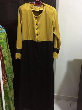 Preloved scarffeya jubah dress #GayaRaya