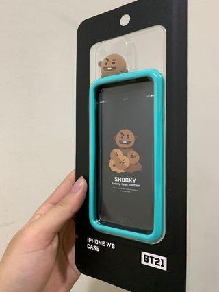 🚚 bt21 手機殼 shooky iphone7/iphone8用