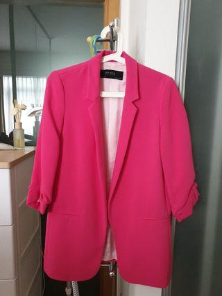 🚚 Zara Pink Blazer