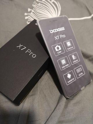 """6"""" 16GB Doogee X7 Pro mobile phone"""