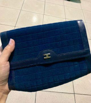 Chanel inspired makeup pouch (sale)