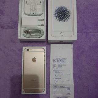 iPhone 6 Gold 32GB iBox Garansi Panjang