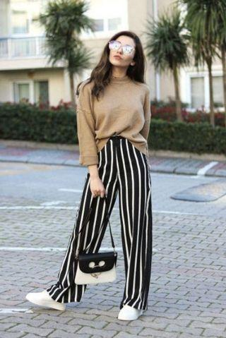 stripe pants (flare)