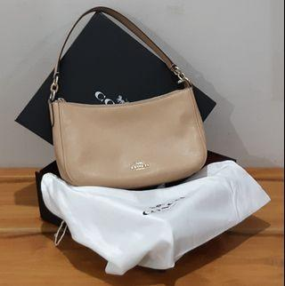 COACH | Model: LIEQO PEBBLE CHELSEA | Colour: Beige | Material: Soft Leather | #BaPau