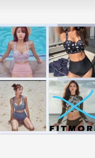 Bikini Set long sleeve swimsuit