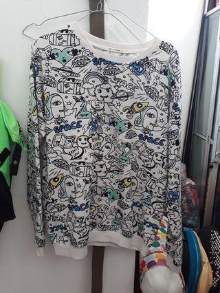 Abstrak sweater