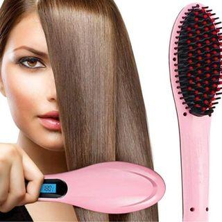 Cheap Sale--3 in 1 Electric Comb Brush for hair straightening