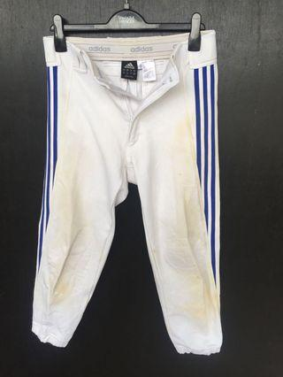 ADIDAS BASEBALL WHITE STRIPE BLUE
