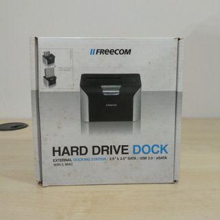 FREECOM Hard Drive Dock External Docking Station