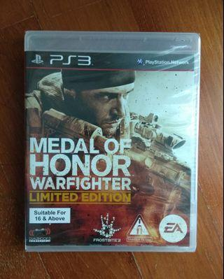🚚 Medal of Honor: Warfighter Limited Edition