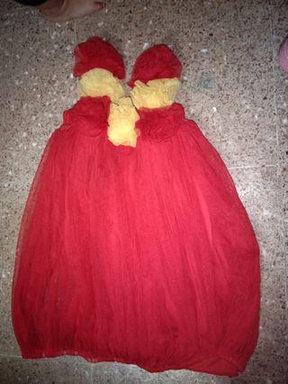 Baju anak bayi dress