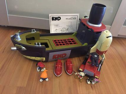 Codename Kids Next Door Kolosaliner Toy Ship