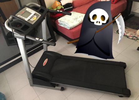 AIBI Treadmill / Foldable Threadmill (Saves Space!)