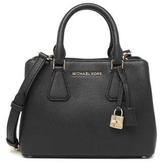 46fbac5325c1 NEW ARRIVAL MICHAEL KORS Camille Small Satchel Crossbody Bag In Pebble  Leather