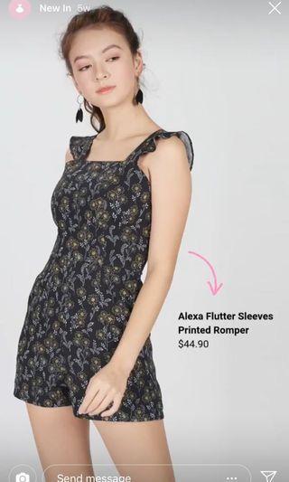 Alexa flutter romper