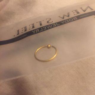 Gold Nose Ring