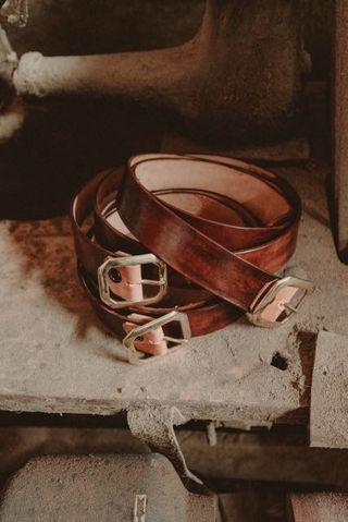 Genuine Leather Belt / Sabuk Kulit Asli