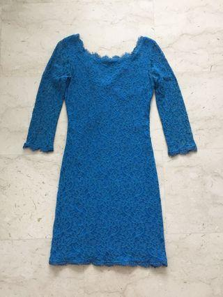 authentic dvf dress 0