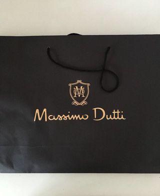 🚚 Massimo Dutti paper bag
