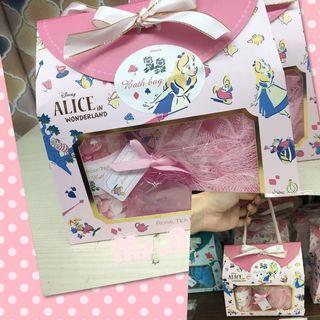 🚚 夢幻🌷愛麗絲五件組沐浴禮盒