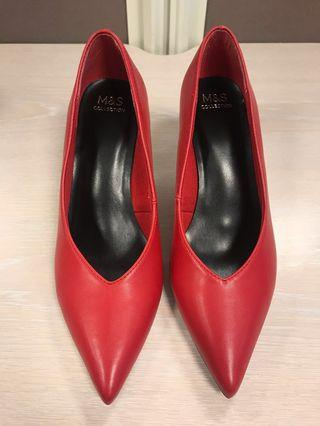 Red Marks & Spenser (M&S) Collection Heels New