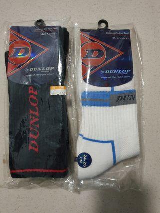 🚚 Dunlop運動襪兩雙