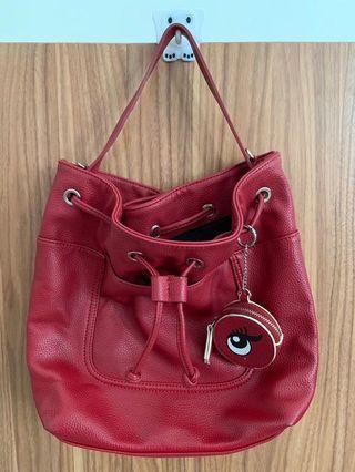Pull & Bear Red Bag