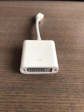 🚚 Apple Mini DisplayPort to DVI Adapter