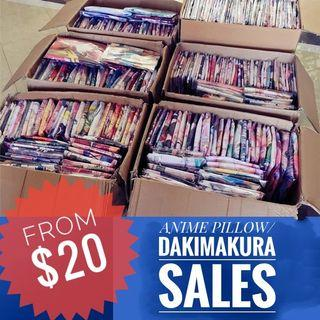 🚚 HUGE ANIME DAKIMAKURA / CUSHION COVER GACHA SALES