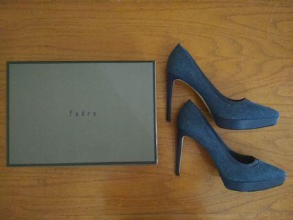 Pedro Shoes Navy Jeans