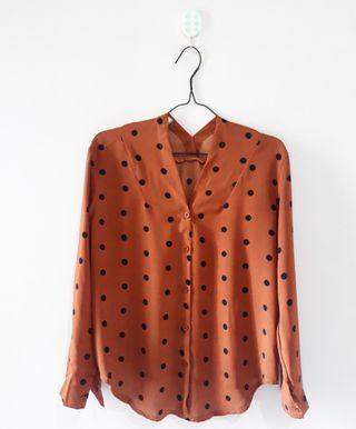 Polka Terracotta Shirt