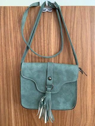 Pull & Bear Green bag