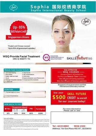 WSQ Facial Treatment Course